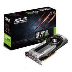 Asus GTX1080 Ti Founders Edition, PCIe3, 11GB DDR5X,  HDMI, 3 DP, 1582MHz, VR Ready