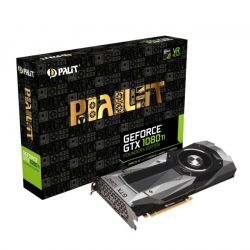 Palit GTX1080 Ti Founders Edition, PCIe3, 11GB DDR5X, HDMI, DP, 1582MHz