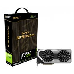 Palit GTX1080 Super Jetstream 8GB DDR5X PCIe3 DVI HDMI 3 DP 1847MHz RGB Lighting 0dB VR Ready
