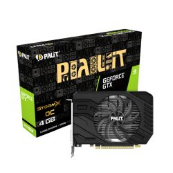 Palit GTX1650 SUPER StormX OC, 4GB DDR6, DVI, HDMI, DP, 1770MHz Clock, Overclocked