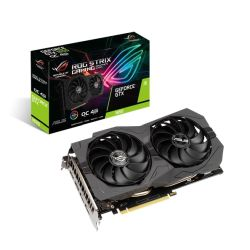 Asus GTX1650 STRIX OC, 4GB DDR6, 2 HDMI, 2 DP, 1845MHz Clock, Overclocked, RGB Lighting