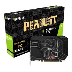 Palit GTX1660 SUPER StormX OC, 6GB DDR6, DVI, HDMI, DP, 1830MHz Clock, Overclocked