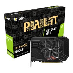 Palit GTX1660 SUPER StormX, 6GB DDR6, DVI, HDMI, DP, 1785MHz Clock, Compact Design