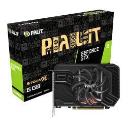 Palit GTX1660 SUPER StormX, 6GB DDR6, DVI, HDMI, DP, 1785MHz Clock, Compact Design