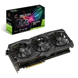 Asus GTX1660 Ti STRIX Advanced, 6GB DDR6, 2 HDMI, 2 DP, 1830MHz Clock, RGB Lighting