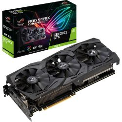 Asus GTX1660 Ti STRIX OC, 6GB DDR6, 2 HDMI, 2 DP, 1890MHz Clock, RGB Lighting, Overclocked