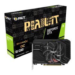 Palit GTX1660 Ti StormX OC, 6GB DDR6, DVI, HDMI, DP, 1815MHz Clock, Compact Design