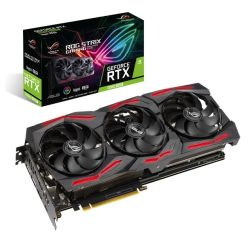 Asus ROG STRIX RTX2060 SUPER EVO Advanced, 8GB DDR6, 2 HDMI, 2 DP, USB-C, 1710MHz Clock, 0dB Tech, RGB Lighting