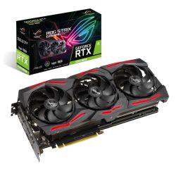 Asus ROG STRIX RTX2060 SUPER EVO Advanced, 8GB DDR6, 2 HDMI, 2 DP, USB-C, 1710MHz Clock, 0dB Tech, RGB Lighting