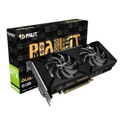 Palit RTX2060 SUPER DUAL, 8GB DDR6, DVI, HDMI, DP, 1650MHz Clock, LED lighting
