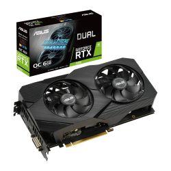 Asus DUAL RTX2060 OC EVO, 6GB DDR6, DVI, 2 HDMI, DP, 1785MHz Clock, Overclocked