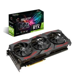 Asus ROG STRIX RTX2060 EVO OC, 6GB DDR6, 2 HDMI, 2 DP, 1860MHz Clock, RGB Lighting, Overclocked