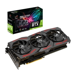 Asus ROG STRIX RTX2060 EVO, 6GB DDR6, 2 HDMI, 2 DP, 1710MHz Clock, RGB Lighting