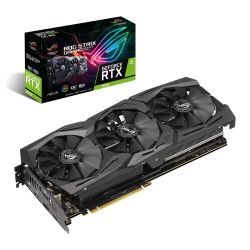 Asus ROG STRIX RTX2070 OC, 8GB, DDR6, 2 HDMI, 2 DP, USB-C, 1845MHz Clock, Overclocked, RGB Lighting