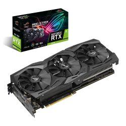 Asus ROG STRIX RTX2070, 8GB DDR6, 2 HDMI, 2 DP, USB-C, 1650MHz Clock, RGB Lighting