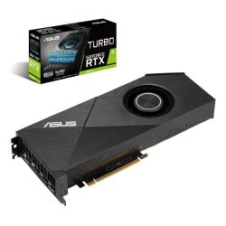 Asus RTX2070 TURBO EVO, 8GB DDR6, 2 HDMI, 2 DP, 1650MHz Clock