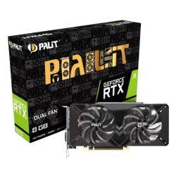 Palit RTX2070 DUAL R2, 8GB DDR6, DVI, HDMI, 3 DP, 1620MHz Clock