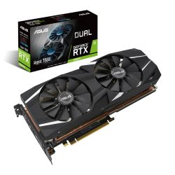 Asus RTX2080 Ti DUAL Advanced, 11GB DDR6, HDMI, 3 DP, USB-C, 1575MHz Clock