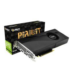 Palit RTX2080, 8GB DDR6, HDMI, 3 DP, USB-C, 1710MHz Clock