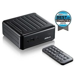 Asrock N3010-NUC BeeBox Barebone PC, Intel N3010, AC Wireless, Btooth, USB3.1 Type-C, Remote, No RAM, HDD or O/S