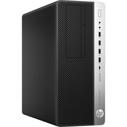 HP EliteDesk 800 G3 SFF PC, i7-7700, 8GB, 256GB SSD, DVDRW, Windows 10 Pro, 3 Years on-site