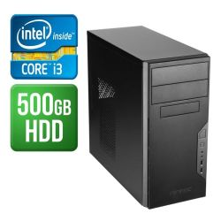 Spire Tower PC, Antec VSK3000B, i3-8100, 4GB, 120GB SSD, Corsair 450W, DVDRW, KB & Mouse, No Operating System