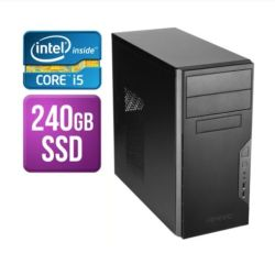 Spire Tower PC, Antec VSK3000B, i5-8400, 8GB, 240GB SSD, Corsair 450W, DVDRW, KB & Mouse, No Operating System