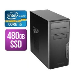 Spire Tower PC, Antec VSK3000B, i5-8400, 8GB, 480GB SSD, Corsair 450W, DVDRW, KB & Mouse, No Operating System