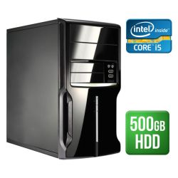 Spire PC, Micro ATX, I5-4460, 4GB, 500GB, KB & Mouse, Card Reader, No Operating System
