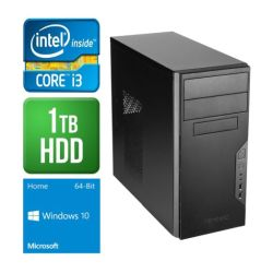 Spire PC, Antec VSK3000B, i3-6100, 8GB DDR4, 1TB, Wireless, KB & Mouse, Windows 10 Home