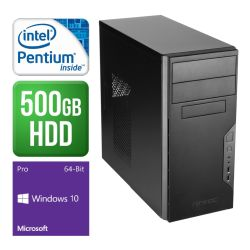 Spire PC, Antect VSK3000B, G4400, 4GB DDR4, 500GB, KB & Mouse, Windows 10 Pro