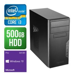 Spire PC, Antec VSK3000B, i3-7100, 4GB DDR4, 500GB, KB & Mouse, Windows 10 Pro