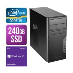 Spire PC, Antec VSK3000B, i5-6400, 4GB DDR4, 240GB SSD, KB & Mouse, Windows 10 Pro