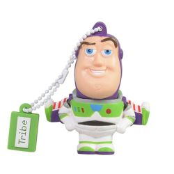 Tribe 16GB USB 2.0 Memory Pen, Toy Story Buzz Lightyear 3D Figure, Keyring