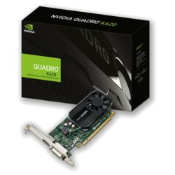 PNY Quadro K620 Professional Graphics Card, 2GB DDR3, PCIe2, DVI, DP DP to DVI & DVI to VGA adapters, Low Profile