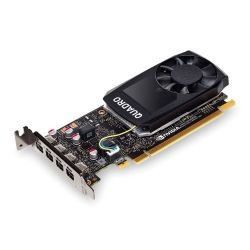 PNY Quadro P1000 Professional Graphics Card, 4GB DDR5, 4 miniDP 1.2 4 x DVI adapters, Low Profile Bracket Included
