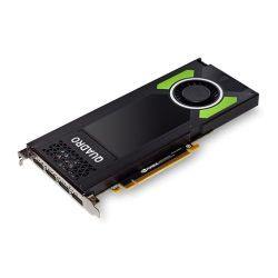 PNY Quadro P4000 Professional Graphics Card, 8GB DDR5, 4 DP 1.4 (4 x DVI adapters)