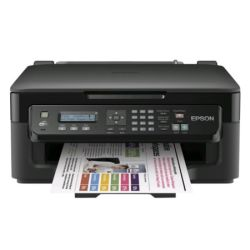Epson WF-2510WF Workforce Wireless  All-in-One Inkjet Printer, Fax, USB, LCD, iPrint