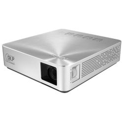 Asus S1 Portable DLP LED Projector, 854 x 480, 169, HDMI, MHL, 200 Lumens, 6000mAh Battery