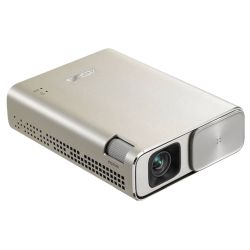 Asus ZenBeam Go E1Z USB Pocket Projector, 854 x 480, 169, Micro USB  Type-C, 150 Lumens, 6400mAh Battery