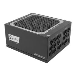 Antec Signature 1000W Platinum PSU, Fluid Dynamic Fan, Fully Modular, 80+ Platinum, Zero RPM Mode