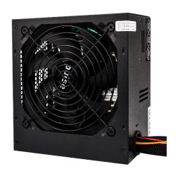 Pulse 500W PSU, ATX 12V, Active PFC, 2 x SATA, 120mm Silent Fan, Black Casing