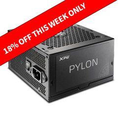 ADATA XPG 550W Pylon PSU, Fully Wired, Fluid Dynamic Fan, 80+ Bronze, Cont. Power