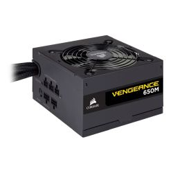 Corsair 650W Vengeance Series 650M PSU, Sleeve Bearing Fan, Semi-Modular, 80+ Silver