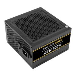 Antec 700W NeoECO Gold ZEN PSU, Fully Wired, LLC Design, 80+ Gold, Cont. Power