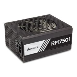 Corsair 750W RMi Series RM750i PSU, Fluid Dynamic Fan, Fully Modular, 80+ Gold