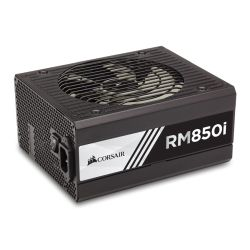 Corsair 850W RMi Series RM850i PSU, Fluid Dynamic Fan, Fully Modular, 80+ Gold