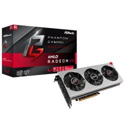 Asrock Phantom Gaming X Radeon VII, 16GB HBM2, PCIe3, 7nm, HDMI, 3 DP, 1750MHz Clock, Triple Fan