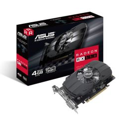 Asus Phoenix Radeon RX550, 4GB DDR5, PCIe3, DVI, HDMI, DP, 1071MHz Clock, Compact Design