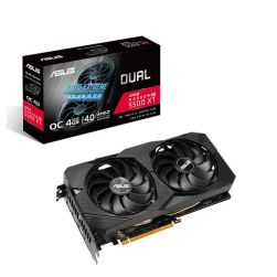Asus DUAL RX5500 XT EVO OC, 4GB DDR6, PCIe4, HDMI, 3 DP, 1865MHz Clock, 0dB Tech, Overclocked